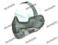 airsoft  Half Face Mask/Metal Mesh Protective Mask Airsoft Airsofter Paintball