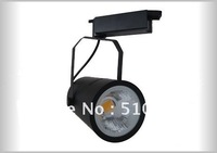Black 30w led track light free shipping track lighting