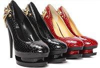 Туфли на высоком каблуке Watch! STARS LOVES Super high-heeled shoes, Ladies Fashion Sexy Pump