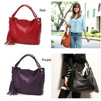 Детали и Аксессуары для сумок 2013 New Fashion Women's Tote Retro Handbag PU Leather Korean Style Ladies Shoulder bag Messenger Bag Button NB0052