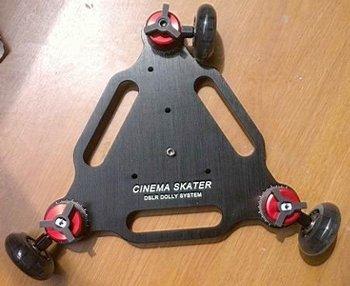 NEW Professional camera dolly movie camera skateboard car 5d2 camera track car desktop / mini / drift car digital SLR