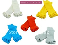 Fashion Foot Alignment treatment toe Socks Massage toe socks as seen on tv Free shipping