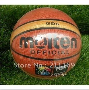free shipping ! Molten GD6 women  Basketball, pu basketbal,# hm385