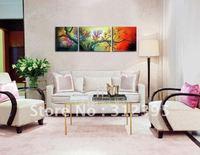 Handicrafts canvas painting Sunrise Landscape Oil Painting