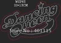 WSP65  Sports,dance & games  designs rhinestone transfer(Dancing)