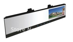 "Car rearview mirror handsfree car kit with 4.3"" TFT Monitor(China (Mainland))"