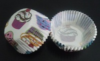 free shipping 2012 500pcs cute lovely multi cakes white color cakecup baking paper cup muffin cases for party favor