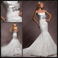 Свадебное платье WG-A030 Sheath V-neck Straps Cap Sleeve Court Train Chiffon Wedding Dress
