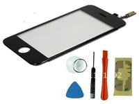 Free shipping for iphones 3GS LCD Touch Screen Digitizer +REPAIR KIT TOOLS