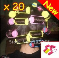 New Magi Sponge Circle Hair Styling Roller Curler 3cm + 20pcs/lot  Free Shipping