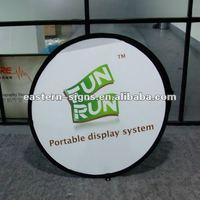 100x100cm Round A Frame Banner
