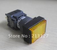 pushbutton switch AH164-TLY11E3 Yellow with light led  cnc controller Machine Tool Accessories machine tools fanuc lathe machine