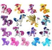 50 шт, мой маленький пони дружбы является магия 2 дюйма g4 мой маленький пони игрушки mlp свободные фигурки