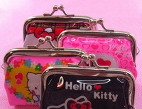 Colorful series of Hello Kitty purse. Metal buckle