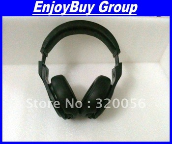 Wholesale 6pcs/lot EMS freeshipping D-E-T-O-X Professional DJ  Noise Cancell pro pure black headphone with sealed box