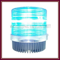 LED Beacon for car, warning beacon, DC12V, 20W, Magnetic Install, PC Lens, waterproof, 12 feet cigarette plug (TBD-GA-C933)