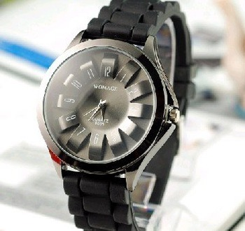 silicone watches cheap  petal multicolor optional Student table movement is jelly