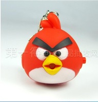 2012 Hot sales,Angry-birds, light, sound, key,free shipping,Drop shopping