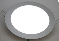 Free shipping 240*13mm Round ceiling panel light 110-240V 18W 7inch high bright SMD3014