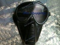 Airsoft  Face Guard Mesh Tactical Mask & Goggles Black (MK-BK)