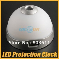New RGB Color-Changing LED Night Light Magic Projection Projector Alarm Table Clock freeshipping