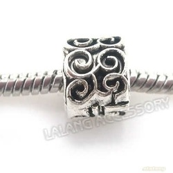 Free Shipping 150pcs/lot New Style S Craves Round Beads Silver Oxide Alloy Metal Beads Fit Jewelry Handcraft Wholesale 8A0112(China (Mainland))