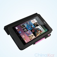 FREE SHIPPING Leathercase cover for Google nexus7 tablet