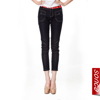 Free Shipping Jeans female tight skinny pants summer stovepipe pencil pants