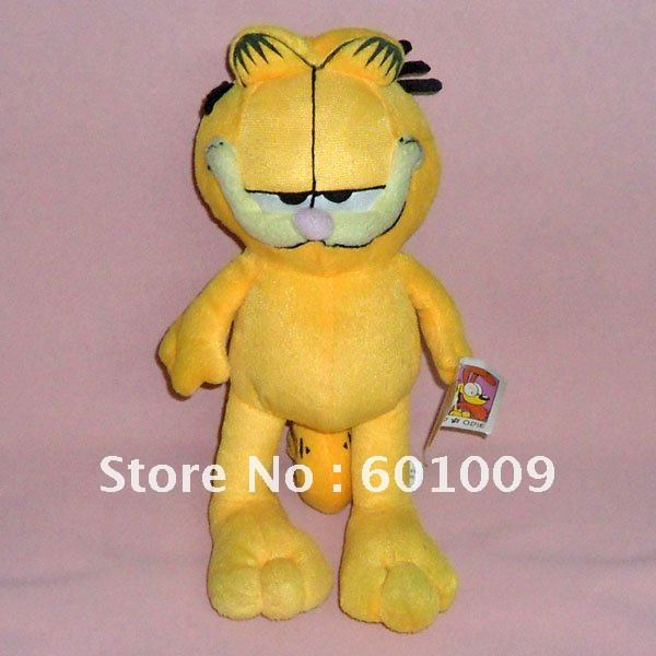 """Free Shipping EMS 30/Lot TY GARFIELD COOL CAT AND HAPPY HOLIDAYS PLUSH NWTGS 12"""" New Wholesale(China (Mainland))"""