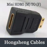 Free shipping Mini hdmi male to mini hdmi female adapter
