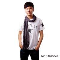 2013 Hot !!! Silk Scarf Fashion Cotton Men's Scarfs Sensational Crochet Scarves 5Pcs/lot UPS Free Shipping !!