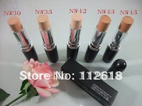2PCS/LOT Hot sale!Professional brand makeup STDIO FIX FLUID SPF 15 lipstick foundation 30ml 5 different color free shipping