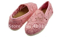 Free shipping Wholesale women's crochet shoes (2 pairs /lots)2 Pieces 8 differ colors