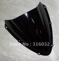 Black  Windscreen  For Suzuki GSXR600  08 09 GSXR750 2008 2009 windshield  Free shipping