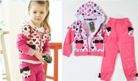 The babies sports clothes,children dress ,one set=one coat+one pants,CBRL promotion sell 5 piece+CPAM free shipping