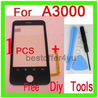 100% original Star A3000 Touch Screen Glass Digitizer for Star A3000 Cell Phone , Mini Order 1 pcs. WITH TRACKING NO