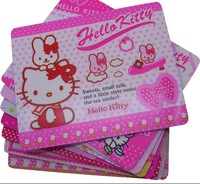 Free shipping+Wholesale! HELLO KITTY Mouse Pad,Cartoon Mouse Pad Mix Order