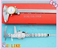 Free shipping 30PCS 0-150mm/6inch stainless digital caliper  Dial caliper, vernier caliper, micrometer!