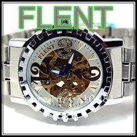 HOT! Wholesale Flent Watches, New Mens Luxury Style,10pcs Mens Watch, Fashion Automatic Wrist Watch Fast Shipping,LLW-F-1077-1