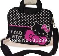 10pcs/lot Wholesale beautiful hello kitty Notebook bags size 36cm*29.5cm*5cm