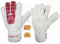 Free shipping,Football goalkeeper gloves,Pro Non-slip goaltender gloves,goalie hand sleeve,high quality soccer goal-keeper kit