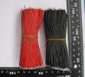 600pcs Breadboard Jumper Cable Wires Tinned 100MM Black & Red  Free Shipping