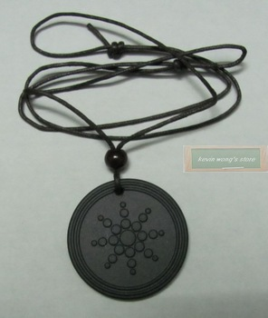 Free shipping!2pcs/lot,Technology Energy quantum scalar pendant energy card and lava pendants&anion&Resist radiation