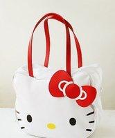 Cute European new Fashion Hello Kitty Handbags girls fashion shopping bag Leisure bag inclined shoulder Bags