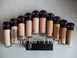 2PCS/LOT best sell Professional Brand matchmaster Liquid Foundation spf15 10 different colour 35ML free shipping(China (Mainland))