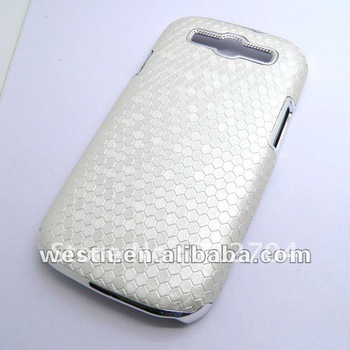 Hard plastic cell phone cases,football texture design noble mobile phone cases for Samsung i9300 Galaxy S III 300pcs/lot