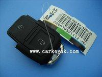 Hot sale VW 2+panic button flip remote key blank