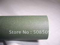 1.52*30m Color Army Green  Air Drain sand Pearlised viny pearlized Dull Polish Pearly-lustre Film