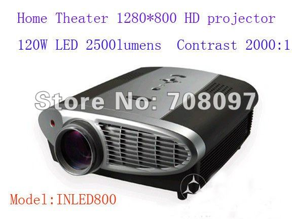 data show hd projector for conference meeting room or training course with curtain down environment HDMI TV USB VGA Svideo(China (Mainland))