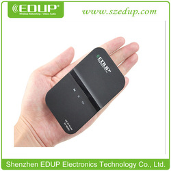 54Mbps 802.11N EDUP EP-9506N USB Portable Wireless Wifi 3G Router Modem With Battery And SIM Slot(China (Mainland))
